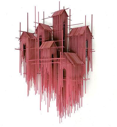 David Moreno, 'Floating favelas V', 2019
