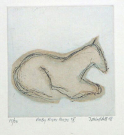 Theodore Waddell, 'Ruby River Horse IV', 2014