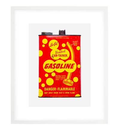 JP Greenwood, 'RED + YELLOW GASOLINE 2', 2018