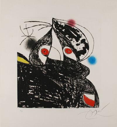 Joan Miró, 'Personnage Romantique', 1975