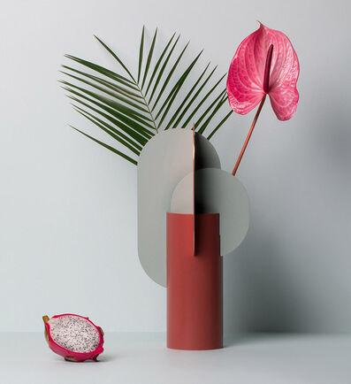 NOOM, 'Ekster Metal Vase', 2018