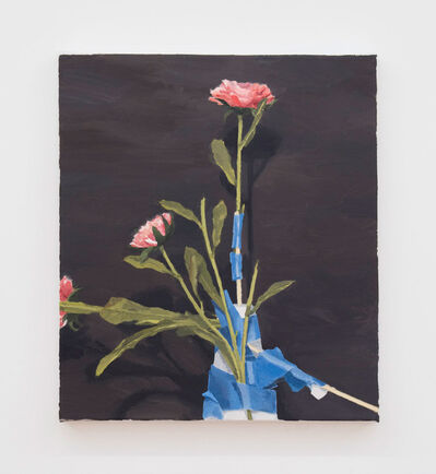 Roger White, 'Silk Flowers (Second Version)', 2016
