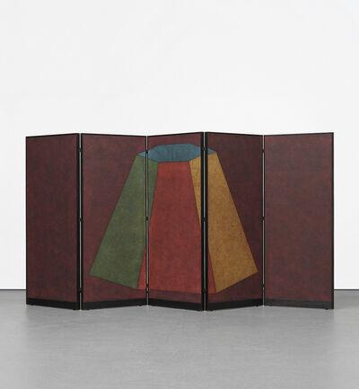 Sol LeWitt, 'Folding Screen: B-7 Asymmetrical Pyramid'