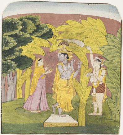 Unknown Artist, 'Lahula Raga of Dipak', ca. 1800