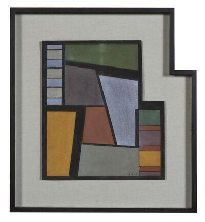Carmelo Arden Quin, 'Diagonales', 1945