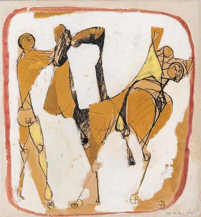 Marino Marini, 'Cavalli e cavalieri', 1951-1952