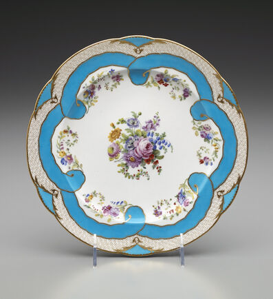 Sèvres Porcelain Manufactory, 'Two Plates (Part of a Dessert Service)', 1782