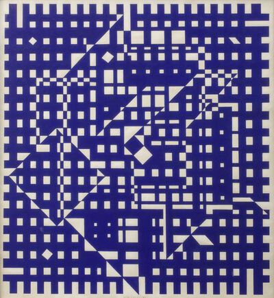 Victor Vasarely, 'Aguia I', 1955