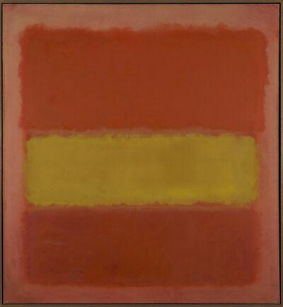 Mark Rothko, 'Yellow Band', 1956