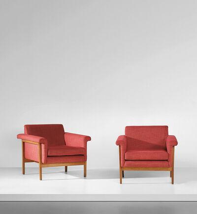 Ettore Sottsass, 'Pair of 'Canada' armchairs', circa 1958
