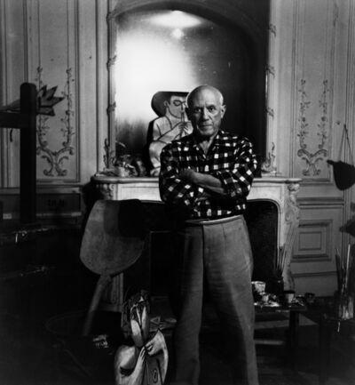 Lucien Clergue, 'Picasso à « La Californie » ', 1955