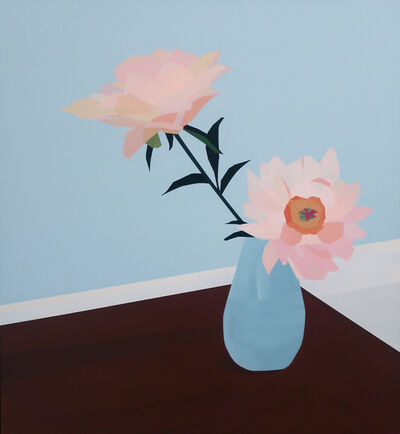 Greta Van Campen, 'Peonies, Dining Room', 2019