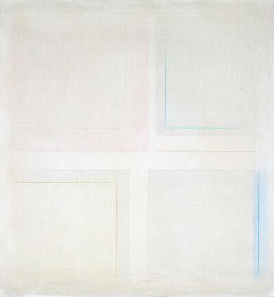 Riccardo Guarneri, '2 quadrati e 2 rettangoli ', 1972