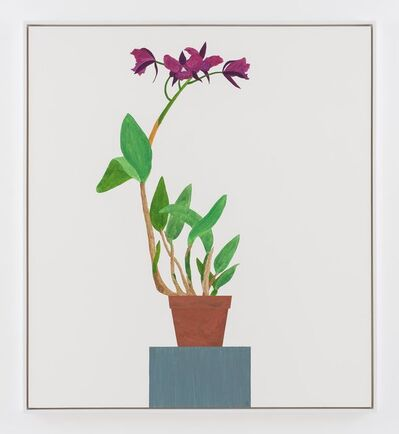 Ed Baynard, 'Tell me the title of the Orchid on the Painted Grey Stand', 1978