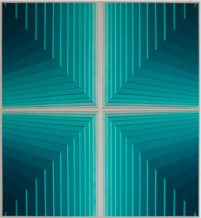 Daniel Mullen, 'Untitled (turquoise), (Future Monuments 012)', 2020