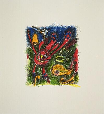 Elizabeth Murray, 'Red                        Violet', 1995