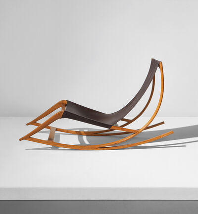 "Wendell Castle, 'Unique ""Chaise Rocker""', 1962"