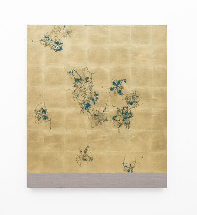 Pierre Vermeulen, 'Hair orchid sweat print, oxide green layer', 2018