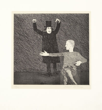 David Hockney, 'Inside the Castle, from 'Illustrations for Six Fairy Tales from the Brothers Grimm' (MCA Tokyo 93; Scottish Arts Council 96)', 1969