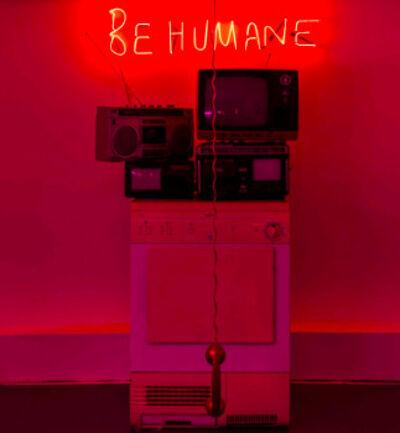 Half a Roast Chicken, ''Be Humane' Installation', 2017