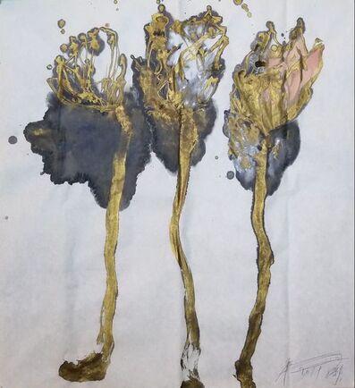 Wei Ligang 魏立刚, 'Golden Branch Big Plum a', 2019