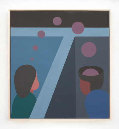 Geoff McFetridge, 'Image Based Gamelan 1: We Share Something Invisible', 2020