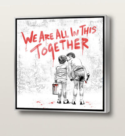 Mr. Brainwash, 'We Are All In This Together - Red', 2020