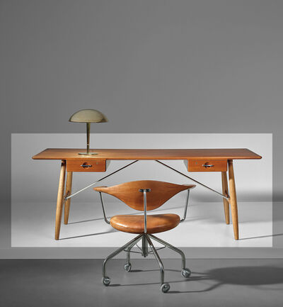 Hans Jørgensen Wegner, 'Early 'Architect's desk', model no. JH571'