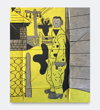 Soeren Behncke, 'James Castle (Yellow Version)', 2018