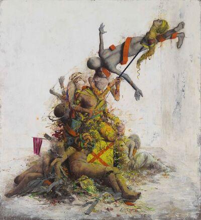 Jonas Burgert, 'Umwund', 2014