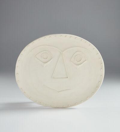 Pablo Picasso, 'Geometric face (Visage géométrique)', 1956
