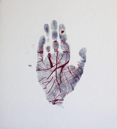 Samina Islam, 'Clue Handprint', 2017