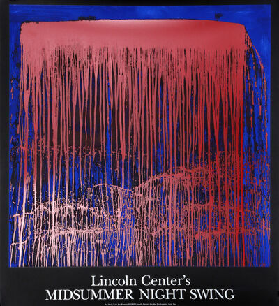 Pat Steir, 'Lincoln Center's Midsummer Night Swing', 1993