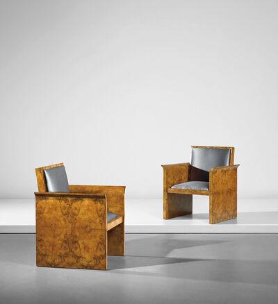 Osvaldo Borsani, 'Pair of armchairs', 1930s