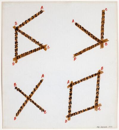 Mel Bochner, 'untitled', 1973