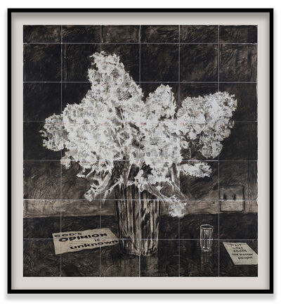 William Kentridge, 'Hyacinths (Wait Once Again for Better People)', 2020