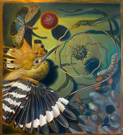 Kevin King, 'Diorama with Hoopoe', 2018