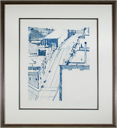 Wayne Thiebaud, 'Down 18th Street', 1979