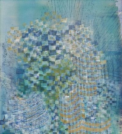 Alyse Rosner, 'Tinge (turquoise)', 2017