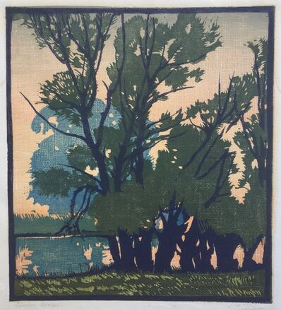 William S. Rice, 'Willow Border', ca. 1915 -20