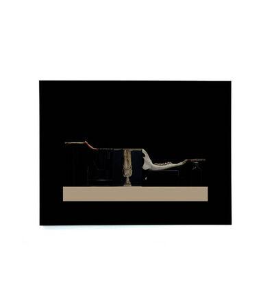Harald Popp, 'Untitled, Black Scan 01', 2014