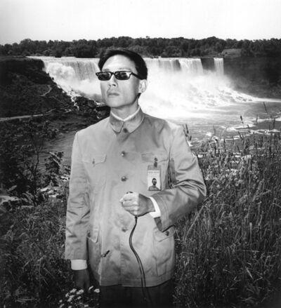 Tseng Kwong Chi, 'Niagara Falls, New York', 1984