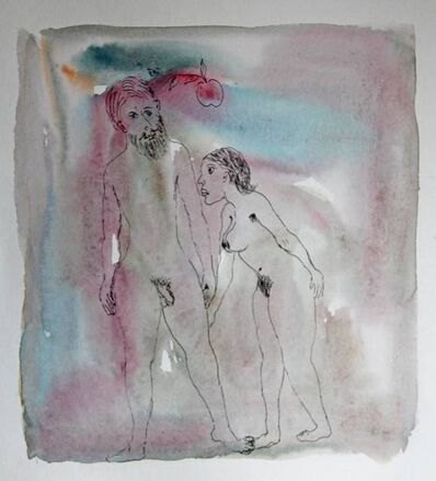 Tasaduq Sohail, 'Untitled (Adam and Eve)', Undated