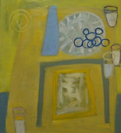 Kathleen Craig, 'Milk, Cookies, Blue Vase'