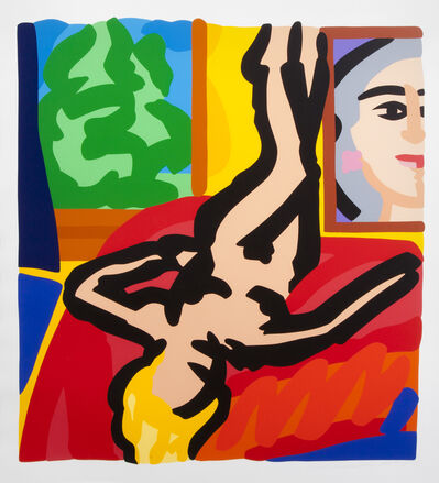 Tom Wesselmann, 'Nude With Picasso', 2000