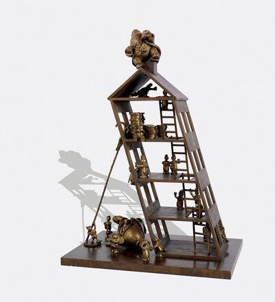 Tom Otterness, 'Nero's Apartment House', 1989-1990