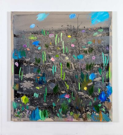 Ida Tursic & Wilfried Mille, 'South-west landscape & flowers', 2018