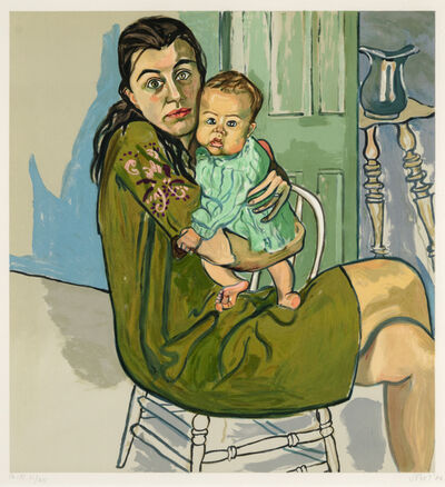 Alice Neel, 'Mother and Child (Nancy and Olivia)', 1982