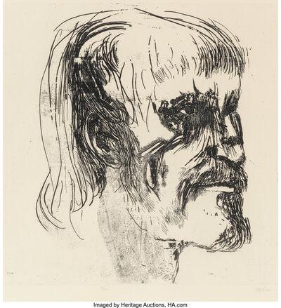 Leonard Baskin, 'Masaccio', 1969