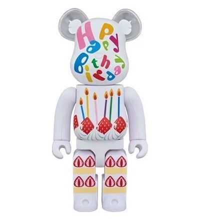 BE@RBRICK, 'BE@RBRICK birthday 2plus 400%', 2018